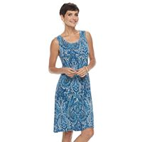 Women's Croft & Barrow® Pintuck Swing Dress