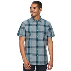 Men's Apt. 9® Premier Flex Slim-Fit Plaid Stretch Button-Down Shirt