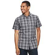 Men's Apt. 9® Premier Flex Slim-Fit Plaid Stretch Button-Down Shirt