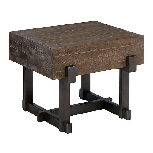 INK+IVY Timber End Table