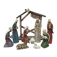 St. Nicholas Square® Nativity Scene Christmas Table Decor 10-piece Set