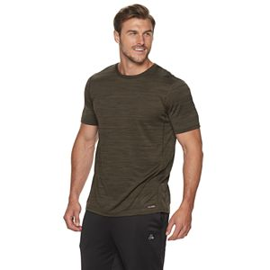 Tek Gear Performance Short Sleeve T-Shirt DryTek Top Tee Big /& Tall Green /& Gray