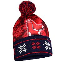 Adult Forever Collectibles Boston Red Sox Light Up Beanie
