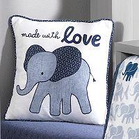 Lambs & Ivy Indigo Decorative Pillow