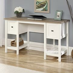 White Sauder Woodworking Office Furniture Kohl S