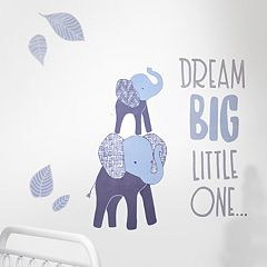 Lambs & Ivy Indigo 'Dream Big' Wall Appliques