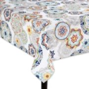 Food Network? Floral Medallion Umbrella Tablecloth