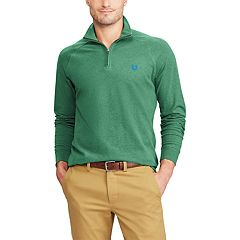 Big & Tall Chaps Regular-Fit Quarter-Zip Stretch Pullover