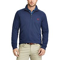 Big & Tall Chaps Regular-Fit Quarter-Zip Stretch Pullover
