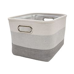 Lambs & Ivy Gray Ombre Storage Bin