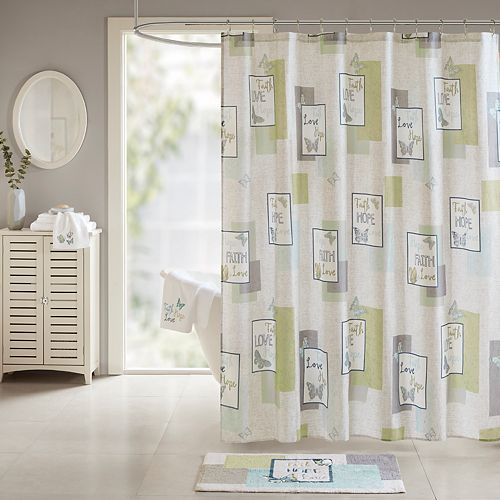 Madison Park Inspiration Shower Curtain