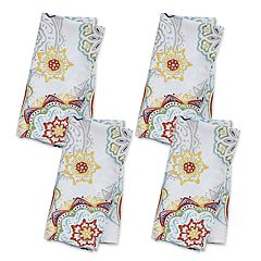 Food Network™ Floral Medallion Napkin 4-pk.