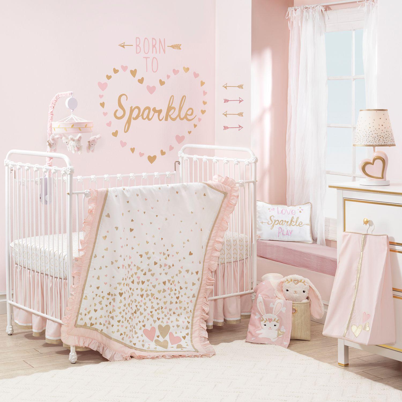 E Confetti Crib Bedding Set