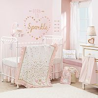 Lambs & Ivy 4 pc Confetti Crib Bedding Set