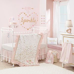Lambs & Ivy 4-pc. Confetti Crib Bedding Set