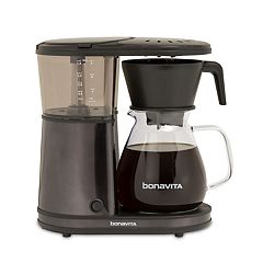 Bonavita 8 cupOne-Touch Black Stainless Steel Coffee Maker