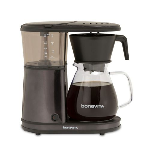 Bonavita 8 Cup One Touch Black Stainless Steel Coffee Maker by Kohl's