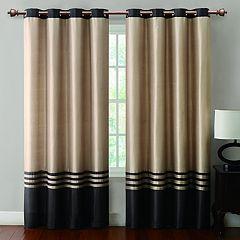VCNY Barclay Faux Silk Window Curtain