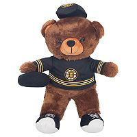 Forever Collectibles Boston Bruins Locker Buddy Teddy Bear Set