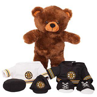 3f4091e7 Forever Collectibles Boston Bruins Locker Buddy Teddy Bear Set