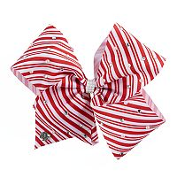 Girls 4-16 JoJo Siwa Candy Cane Embellished Hair Bow