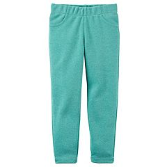 Toddler Girl Carter's Sparkly Pull-On Skinny Pants