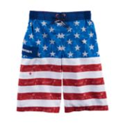 Boys 8-20 ZeroXposur Wicked Glory Swim Trunks