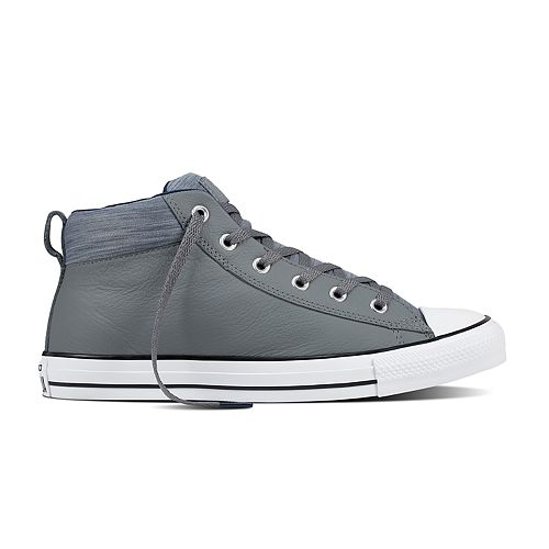 3e0fdd0970a Adult Converse Chuck Taylor All Star Street Mid Leather Sneakers