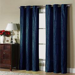 VCNY Jericho Taffeta Blackout Window Curtain