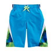 Boys 8-20 ZeroXposur Block Stripes Swim Trunks