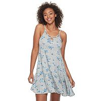 Juniors' SO® Cut-Out Tank Dress
