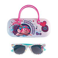 DreamWorks Trolls Poppy Girls 4-16 Sunglasses & Carrying Case Set