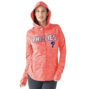Women's Philadelphia Phillies Red Zone Hoodie