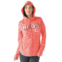 Women's Cincinnati Reds Red Zone Hoodie
