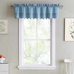 VCNY Jenna Straight Kitchen Window Valance