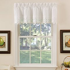 Vcny Jenna Straight Kitchen Window Valance