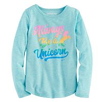 Girls 4-10 Jumping Beans® Unicorn Tee