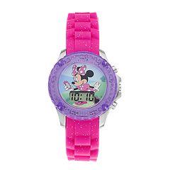 Disney's Minnie Mouse Kids' Digital Light-Up Watch