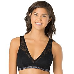 Juniors' SO® Bras: Lace Plunge Bralette