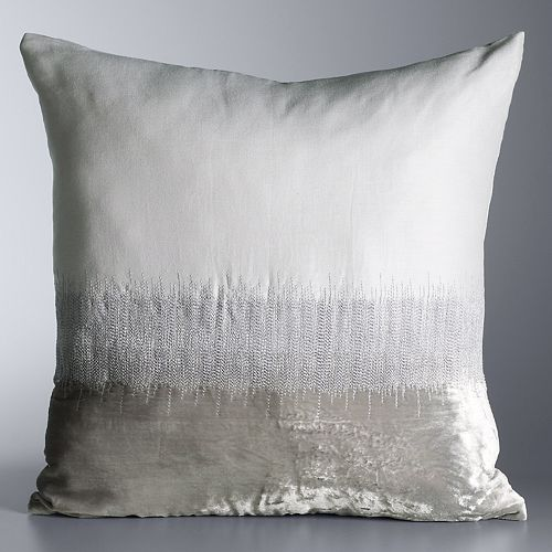 Simply Vera Vera Wang Seismic Throw Pillow by Simply Vera Vera Wang