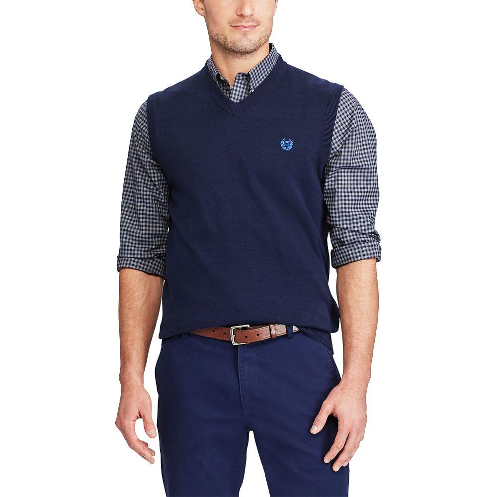 & Tall Chaps Regular-Fit Sweater Vest