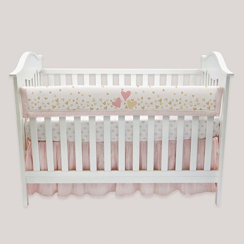 Lambs & Ivy Confetti Crib Rail Cover