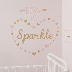 Lambs & Ivy Confetti 'Born To Sparkle' Wall Appliques