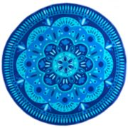 Celebrate Summer Together Round Medallion Beach Towel