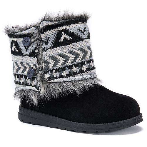 72a369ff562d MUK LUKS Reverse Patti Women s Water Resistant Winter Boots