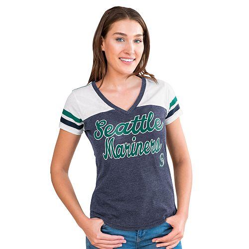 Women's Seattle Mariners Playoff Tee