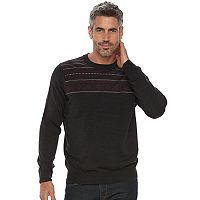 Big & Tall Croft & Barrow® Classic-Fit Crewneck Sweater
