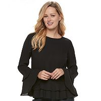 Women's Apt. 9® Tiered Ruffle Top