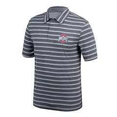 Men's Ohio State Buckeyes Striped Polo