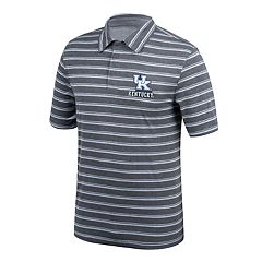 Men's Kentucky Wildcats Striped Polo